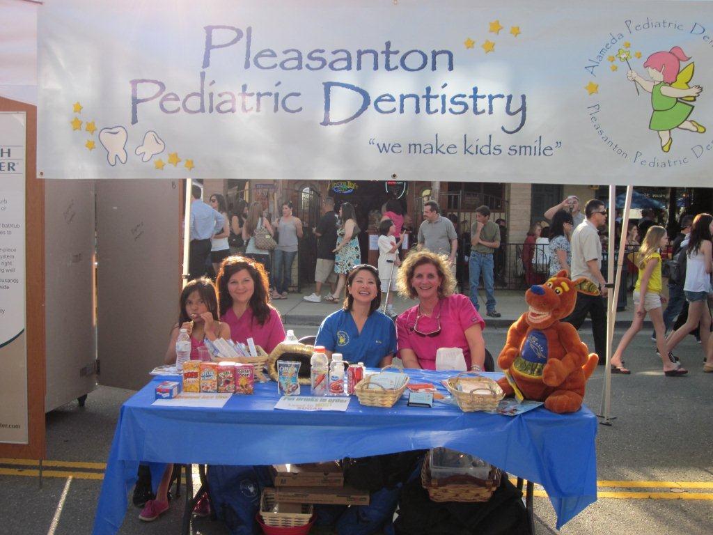 Come Say Hello At The Pleasanton Pediatric Dentistry Booth